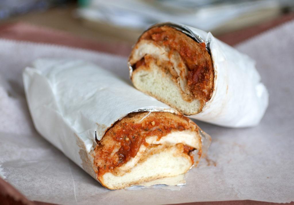chicken parm sandwich from sunny & annie