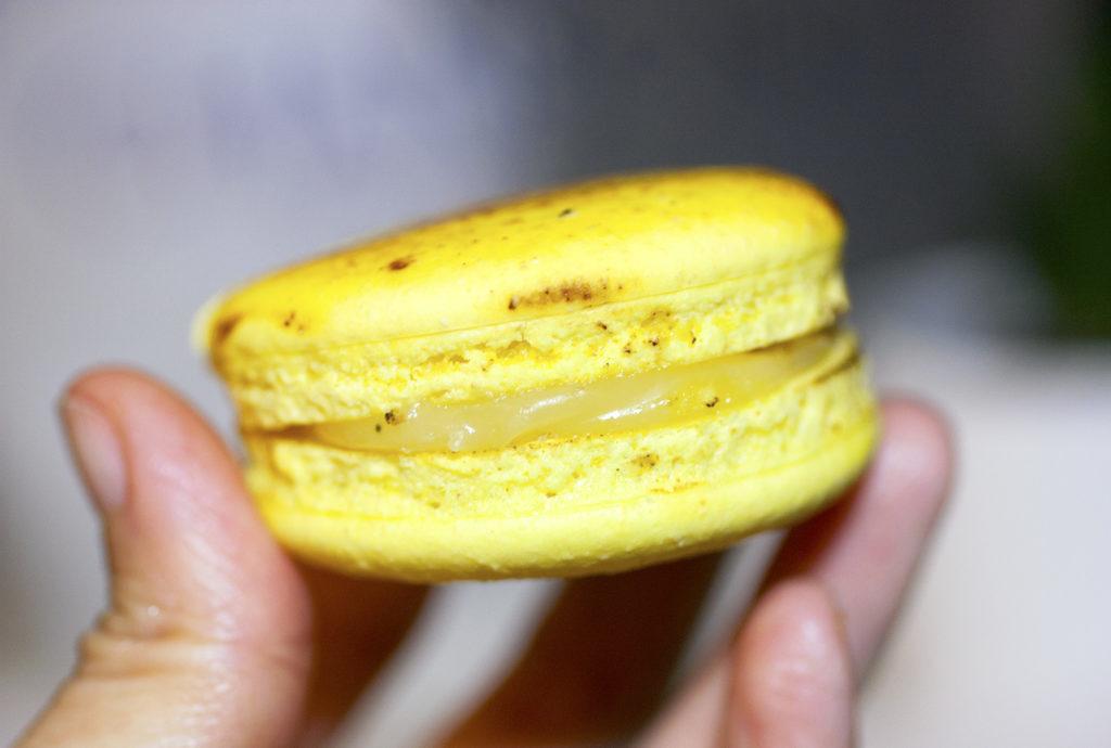 lemon macaron at patisserie chanson