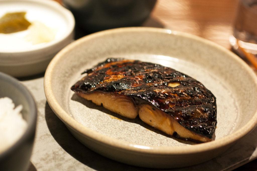 mackerel at momofuku kawi